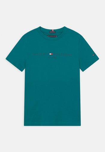 ESSENTIAL LOGO UNISEX - Print T-shirt - breakaway teal