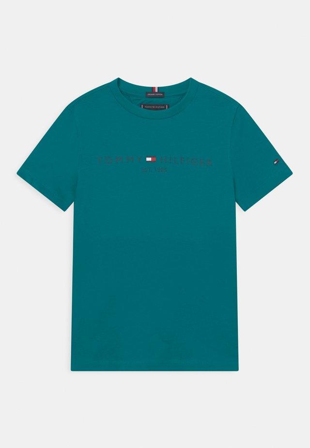 ESSENTIAL LOGO UNISEX - T-shirt print - breakaway teal