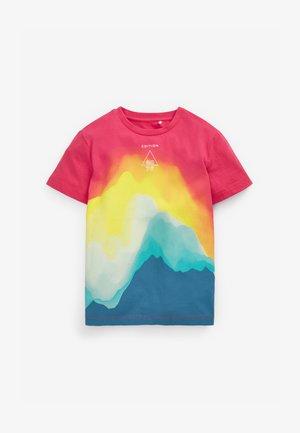 BRIGHT WAVES - Print T-shirt - multi-coloured