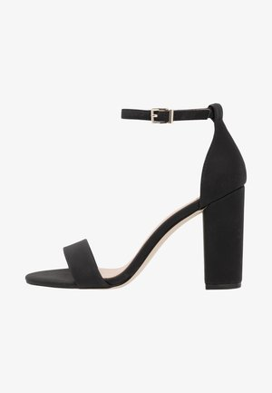 TAYVIA  - High heeled sandals - black