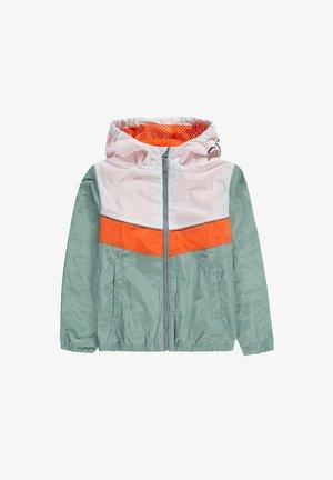MIT REFLEKTOR-DETAILS - Light jacket - mottled light green, orange, white