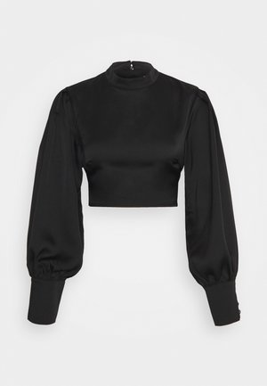 FRIDAY OPEN BACK  - Blouse - black