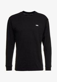 Vans - LEFT CHEST HIT - Bluzka z długim rękawem - black/white - 4