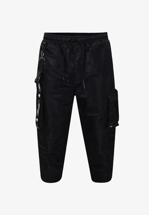 TIGER-BELLOWS PANT - Cargo trousers - black