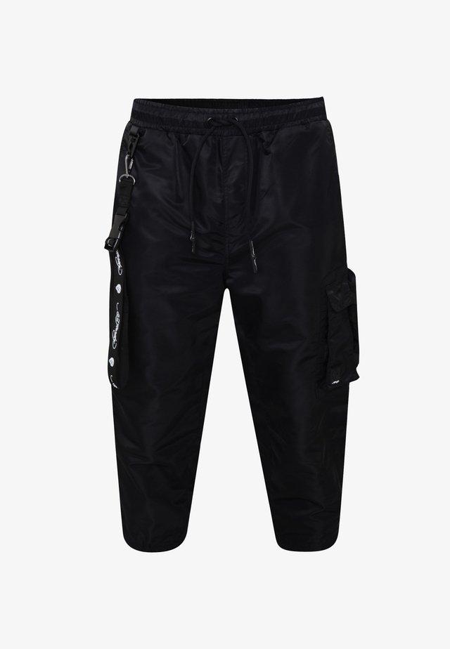 TIGER-BELLOWS PANT - Pantaloni cargo - black