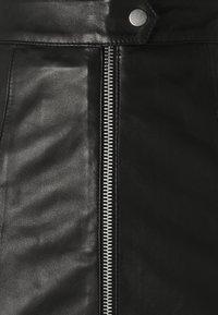 Deadwood - LISS SKIRT - Mini skirt - black - 2