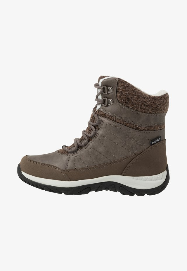 RIVA MID WP - Winter boots - olive