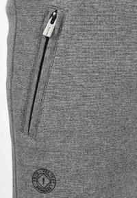 Solid - RAFIK - Shorts - dark grey melange - 4