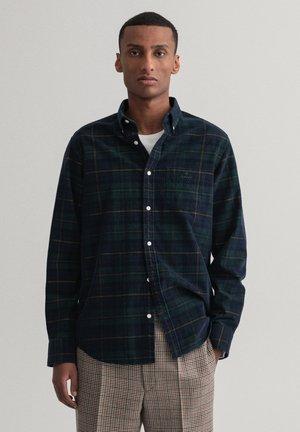 REGULAR FIT CHECK CORDUROY - Shirt - tartan green