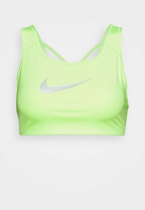 BRA - Medium support sports bra - lime glow/barely green
