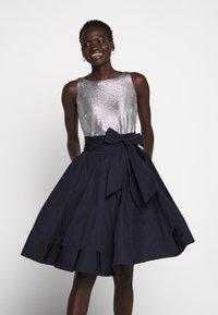 Lauren Ralph Lauren - MEMORY TAFFETA DRESS COMBO - Cocktail dress / Party dress - lighthouse navy - 5