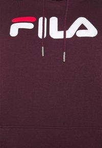 Fila Plus - PURE HOODY - Felpa con cappuccio - tawny port - 5
