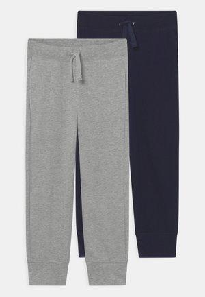 ORGANIC PANT 2 PACK  - Trousers - dark blue