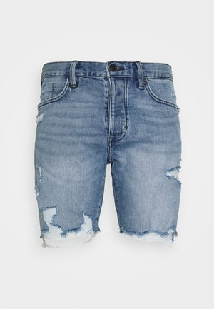 RAY - Denim shorts - blue denim