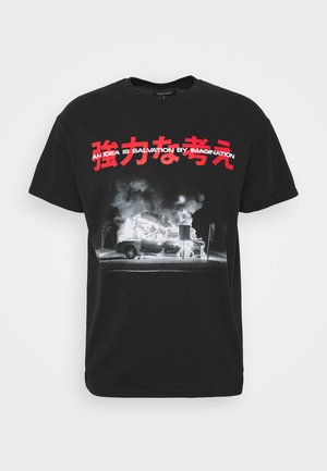 BURNINGIDEA - T-shirts print - black