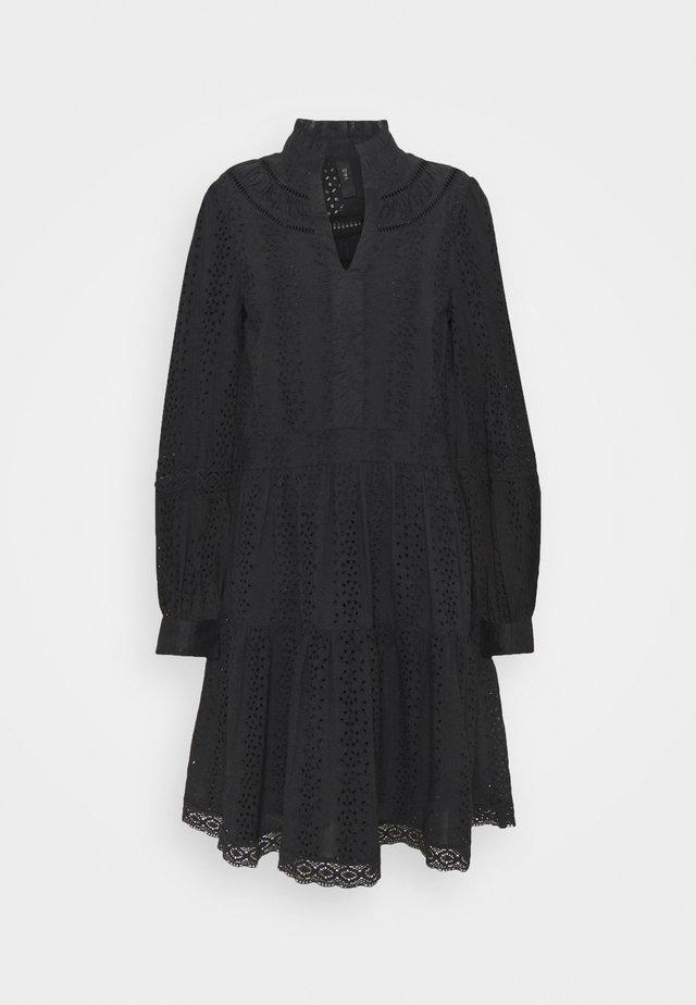 YASGARGI DRESS - Korte jurk - black