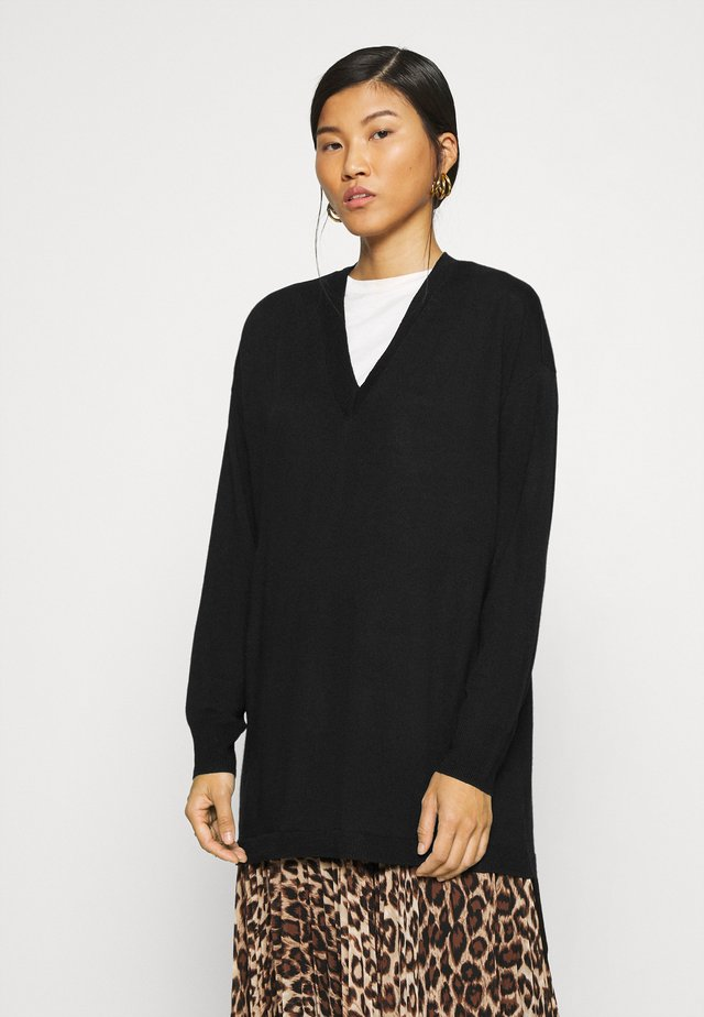 THELMA - Sweter - black