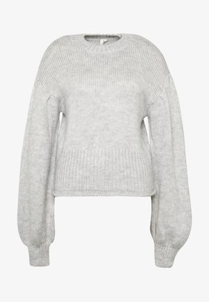 COZY PUFFY SLEEVE - Pullover - grey