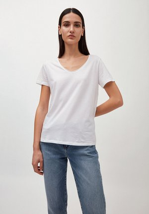 HAADIA - Basic T-shirt - white