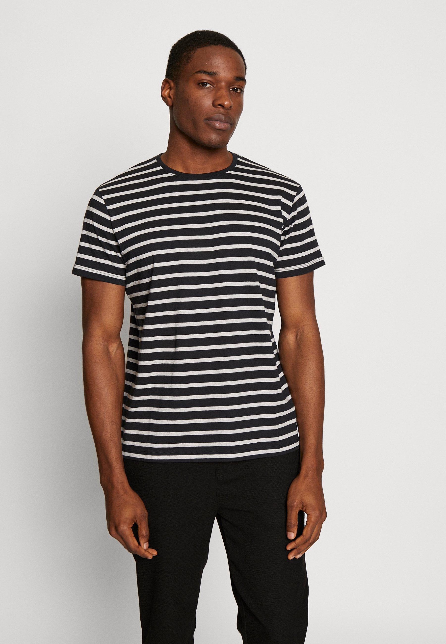 Men Print T-shirt - black