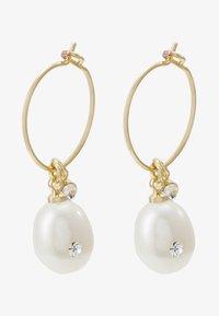EARRINGS LOVE - Earrings - gold-coloured