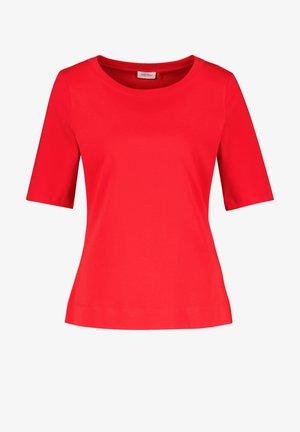 Basic T-shirt - chili