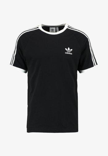 3 STRIPES TEE UNISEX - Print T-shirt - black