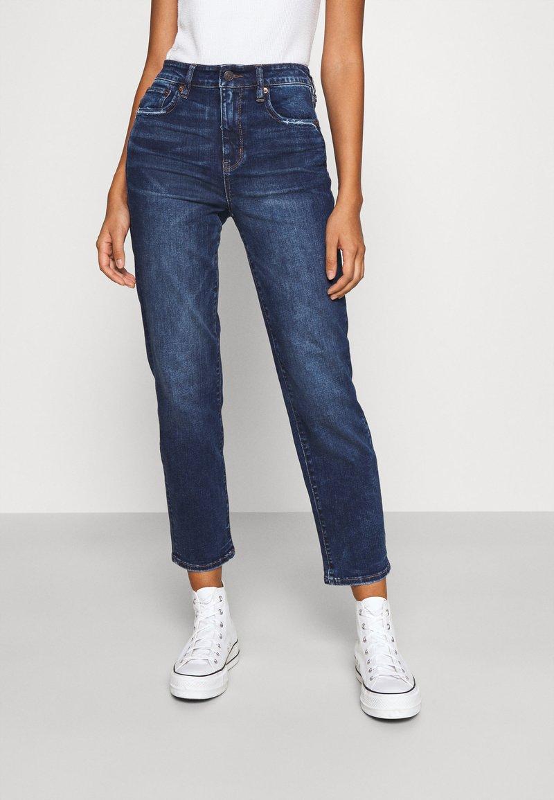 American Eagle - Slim fit jeans - deep indigo