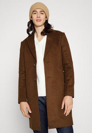 PEAK - Klasyczny płaszcz - brown
