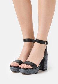 LAB - Platform sandals - black - 0