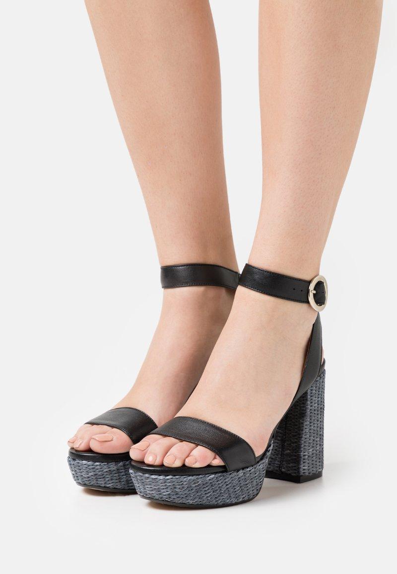 LAB - Platform sandals - black