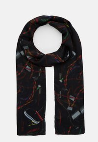 PS Paul Smith - SCARF ROPE PRINT - Scarf - black - 1