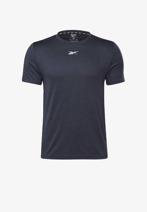 MELANGE WORKOUT READY - Camiseta básica - blue