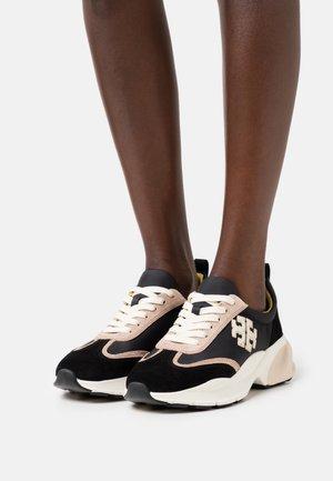 Trainers - black/cream