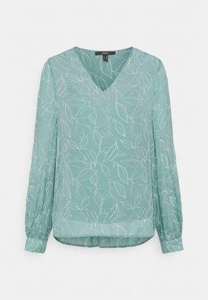 Long sleeved top - dark turquoise