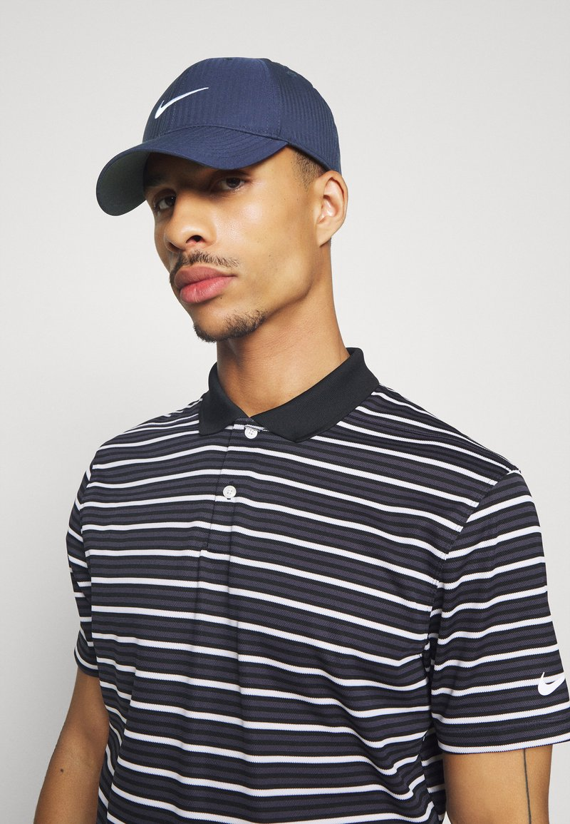 Nike Golf - TECH - Keps - college navy/anthracite/white