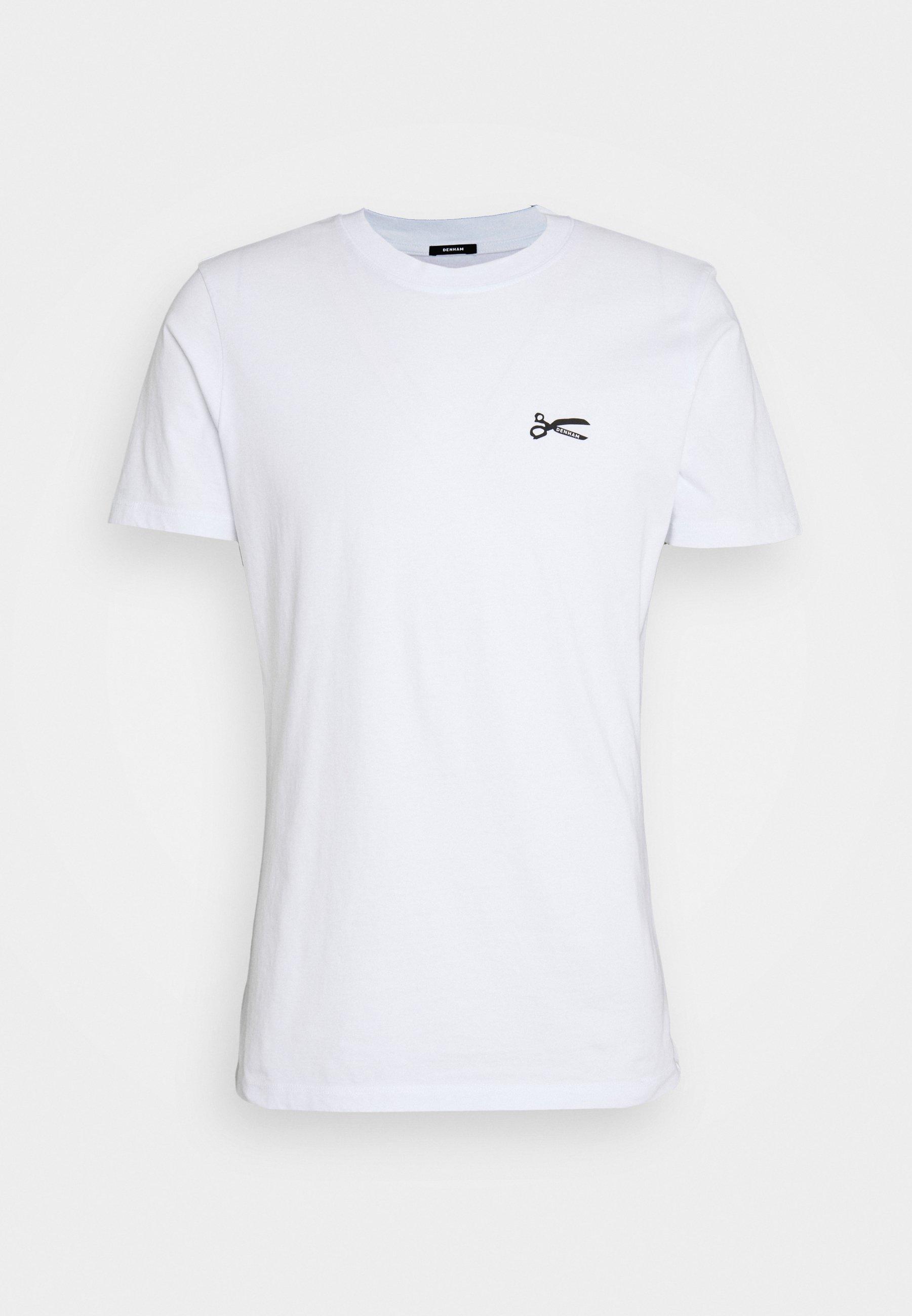 Homme SCISSOR SLIM TEEMOJ UNISEX - T-shirt imprimé