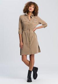 Marc Aurel - Shirt dress - taupe - 1