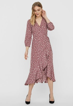 VMHENNA 7/8 CALF DRESS VIP GA - Hverdagskjoler - rose brown