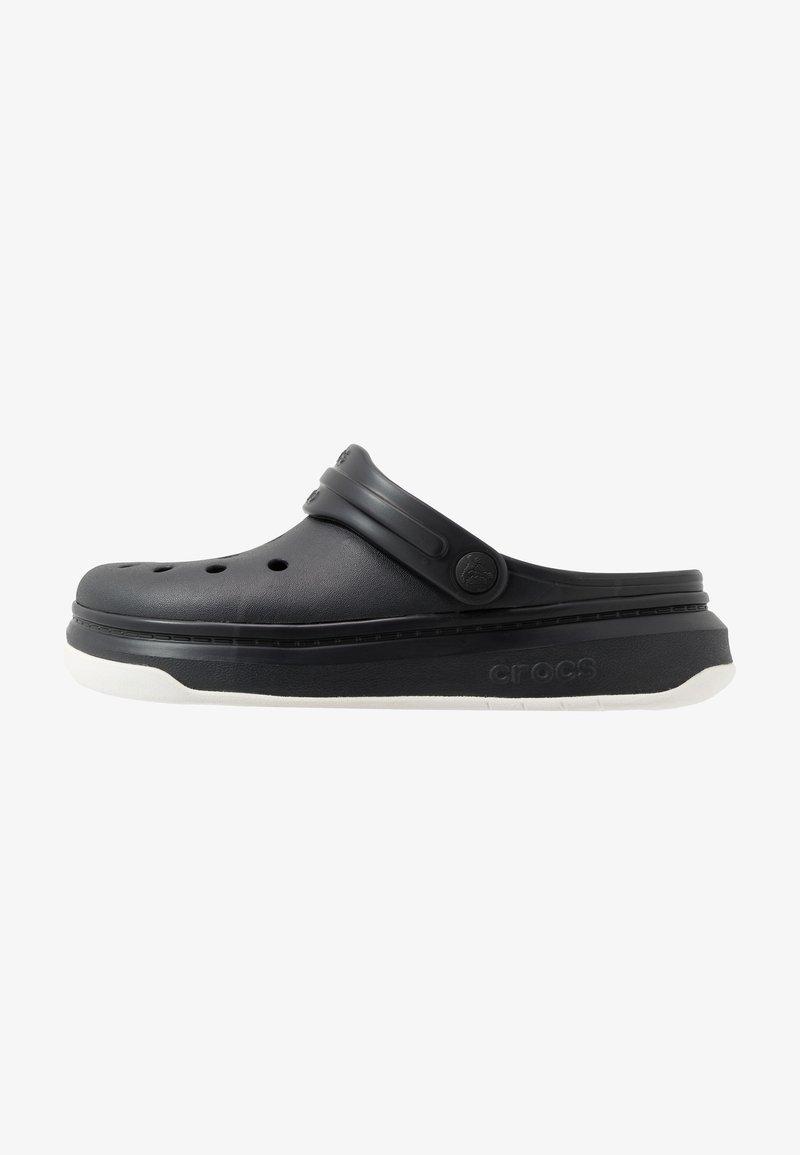 Crocs - CROCBAND FULL FORCE  - Sandały kąpielowe - black