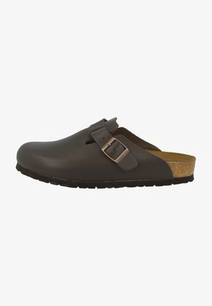 BOSTON - Chaussons - dark brown