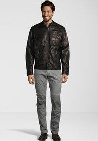 Capitano - NEBRASKA  - Leather jacket - black - 1