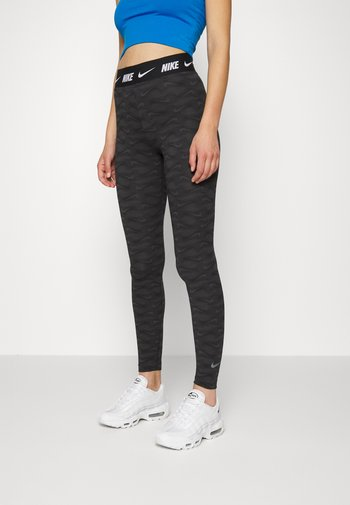 CLUB - Leggings - Trousers - dark smoke grey