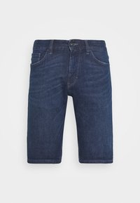 dark stone wash denim