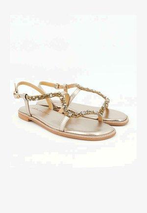 LISBOA - Sandals - gold