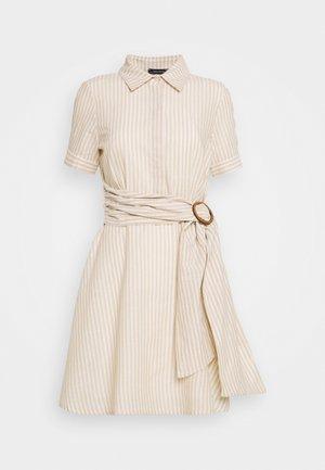 Shirt dress - cream