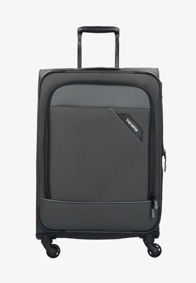 DERBY - Wheeled suitcase - anthracite