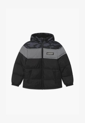 NKMMILIUS PUFFER - Winter jacket - black