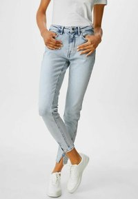 C&A - Jeans Skinny Fit - denim light blue - 0