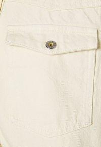 Pieces - PCGRAY SHACKET - Denim jacket - almond milk - 2